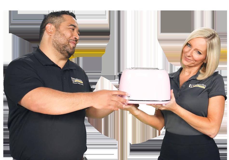 John and Brooke - Wenbrooke Toaster